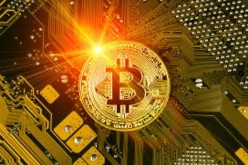 87717665 - bitcoin is a modern way of exchange and this crypto currency is a convenient means of payment in the financial and web markets